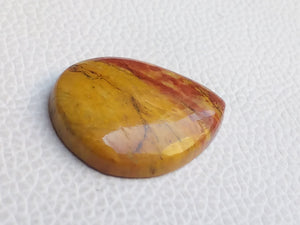 32x26x6 mm Rainbow Jasper Pear Shape