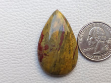 Load image into Gallery viewer, 39x24x7 mm Rainbow Jasper Teardrop Shape