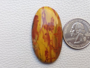 43x24x6 mm Rainbow Jasper Oval Shape