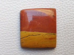 29x26x6 mm Rainbow Jasper Rectangular Shape