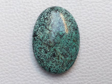Load image into Gallery viewer, 36x25x9 mm Natural Turquoise Tibetan Oval Shape