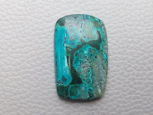 32x20x5 mm Malachite Chrysocolla Rectangular Shape