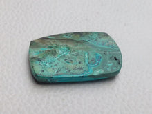 Load image into Gallery viewer, 32x20x5 mm Malachite Chrysocolla Rectangular Shape