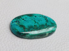 Load image into Gallery viewer, 37x25x5 mm Chrysocolla Malachite Oval Shape