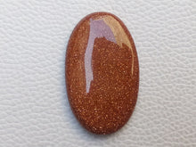 Load image into Gallery viewer, 41x25x6 mm Goldstone Oval Shape