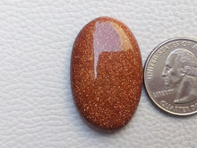 Load image into Gallery viewer, 35x22x7 mm Goldstone Oval Shape