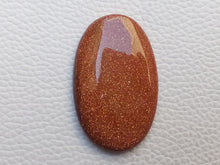 Load image into Gallery viewer, 40x25x6 mm Goldstone Oval Shape