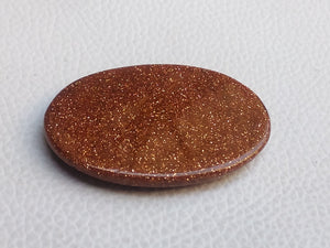 45x31x5 mm Goldstone Oval Shape