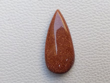 Load image into Gallery viewer, 38x18x7 mm Goldstone Teardrop Shape