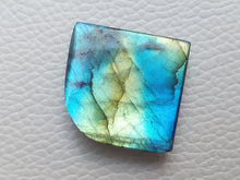 Load image into Gallery viewer, 25x25x7mm, AAA+ Blue Labradorite Gemstone Cabochon Freeform Shape