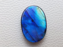 Load image into Gallery viewer, 28x20x8mm,  Blue Labradorite Gemstone Cabochon Oval Shape
