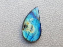 Load image into Gallery viewer, 33x18x6mm,   Labradorite Gemstone Cabochon Freeform Shape
