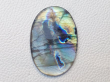 Load image into Gallery viewer, 48x35x6mm,   Labradorite Gemstone Cabochon Oval Shape