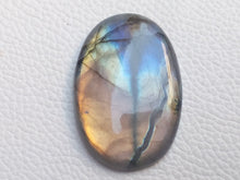 Load image into Gallery viewer, 42x29x7mm,   Labradorite Gemstone Cabochon Oval Shape