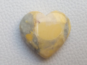 28x26x8 mm Maligano Jasper Heart Shape