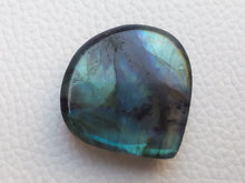 Load image into Gallery viewer, 46x27x7mm,   Labradorite Gemstone Cabochon teardrop Shape