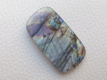 Load image into Gallery viewer, 34x18x6mm,   Labradorite Gemstone Cabochon Rectangular Shape
