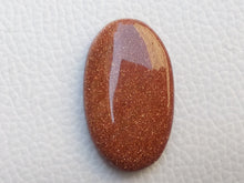 Load image into Gallery viewer, 33x20x6 mm Goldstone Oval Shape