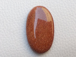 33x20x6 mm Goldstone Oval Shape