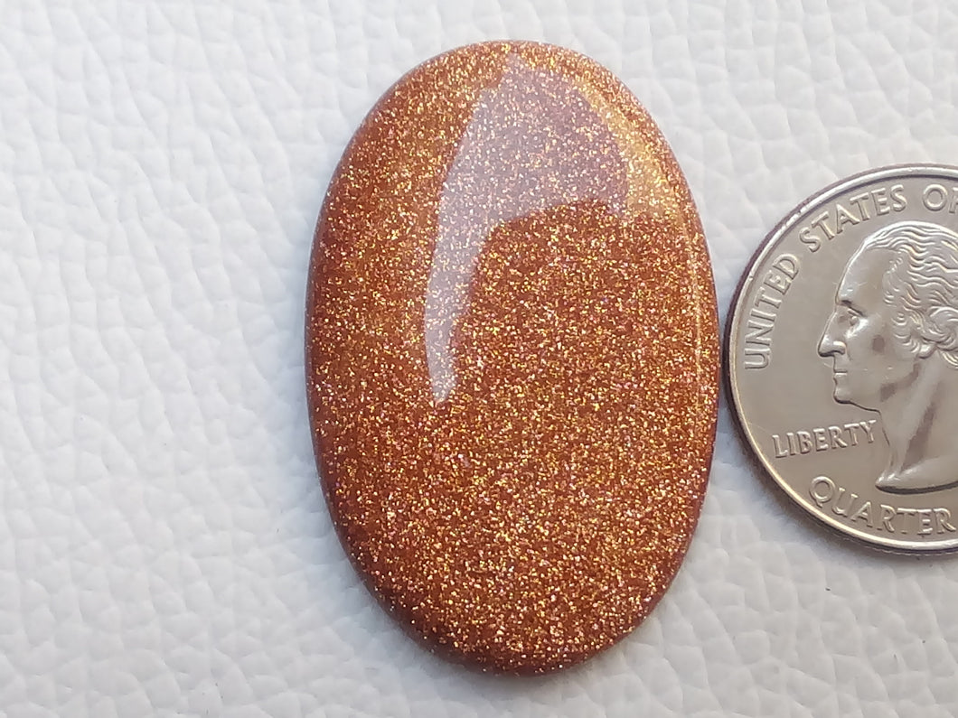 39x26x5 mm Goldstone Oval Shape