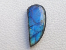Load image into Gallery viewer, 31x14x7mm,  Blue Labradorite Gemstone Cabochon  Free Form Shape