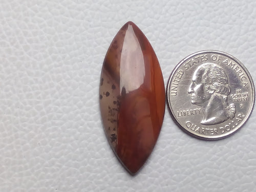 41x18x5mm Natural Polychrome Jasper Marquise Shape