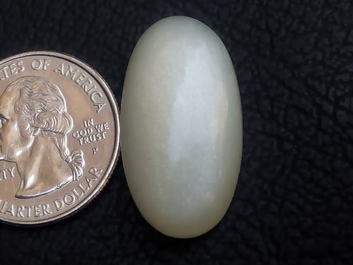 29x16x8mm Natural White Moonstone Oval Shape