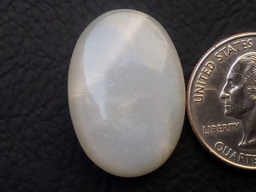 28x20x7mm Natural White Moonstone Oval Shape
