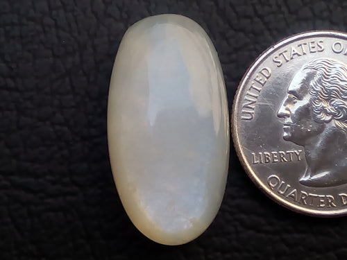 29x15x7mm Natural White Moonstone Oval Shape