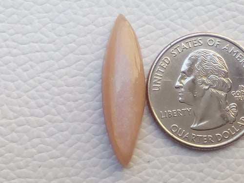 31x9x7mm Natural Peach Moonstone Marquise Shape