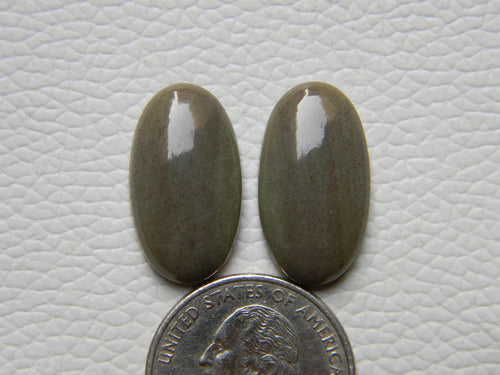 23x13x5 mm, Natural Chrysoprase  Oval Shape,