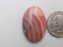 Load image into Gallery viewer, 33x22x6 mm Natural Rhodochrosite Oval Shape