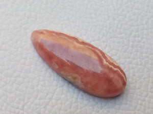 41x14x6 mm Natural Rhodochrosite Teardrop Shape