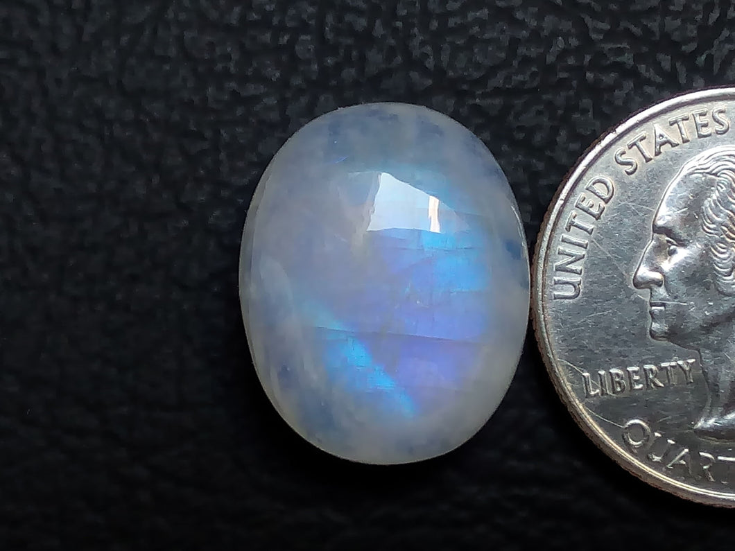 20x16x8 mm Rainbow Moonstone Oval Shape