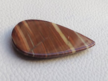 Load image into Gallery viewer, 40x23x5 mm Red Striped Jasper Teardrop Shape
