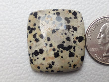 Load image into Gallery viewer, 30x28x8 mm Natural Dalmatian Jasper Rectangular Shape