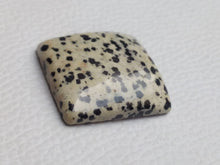 Load image into Gallery viewer, 28x25x7 mm Natural Dalmatian Jasper Rectangular Shape