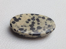 Load image into Gallery viewer, 37x22x9 mm Natural Dalmatian Jasper Oval Shape