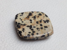 Load image into Gallery viewer, 28x25x6 mm Natural Dalmatian Jasper cushion shape