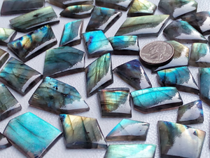 Real Freeform / Unique Shape Labradorite Cabochon