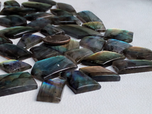 Load image into Gallery viewer, Real Freeform / Unique Shape Labradorite Cabochon