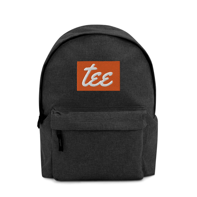 Embroidered Backpack (Custom Logo)