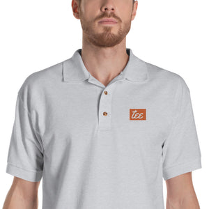 Embroidered Men's Polo Shirt (Custom Logo)