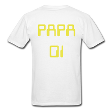 Load image into Gallery viewer, PAPA 01 Men's Basic T-Shirt - white