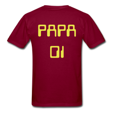 Load image into Gallery viewer, PAPA 01 Men's Basic T-Shirt - burgundy