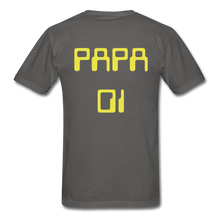 Load image into Gallery viewer, PAPA 01 Men's Basic T-Shirt - charcoal