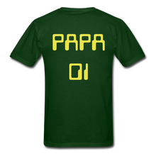 Load image into Gallery viewer, PAPA 01 Men's Basic T-Shirt - forest green