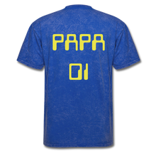 Load image into Gallery viewer, PAPA 01 Men's Basic T-Shirt - mineral royal