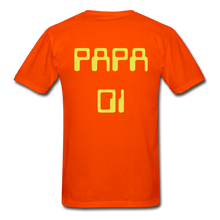 Load image into Gallery viewer, PAPA 01 Men's Basic T-Shirt - orange