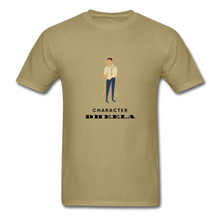 Load image into Gallery viewer, Character Dheela Basic T-Shirt - khaki